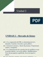 unidad 2 - El equilibrio macroeconomico 2014