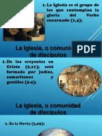 La Teologia de La Iglesia en San Juan