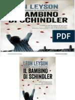 Il Bambino Di Schindler - Leon Leyson