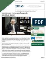 24-08-14 Beneficiará a Tamaulipas la agenda legislativa