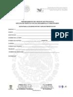 Formato Para Elaborar Carta de Presentacion