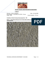 Early Curing to Control Plastic Shrinakge Cracks -Manual 2- UTCL 2009