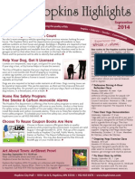 Hopkins Highlights-September 2014