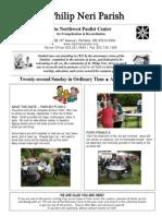 Aug 31 Full Bulletin