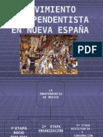 MOV.  INDEPENDENTISTA EN NUEVA ESPAÑA
