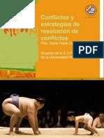 Conflictos y Estrategias de Resolución de Conflictos