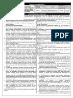 Manual Candidato Horário e Data Concurso Caixa Econômica Federal 2