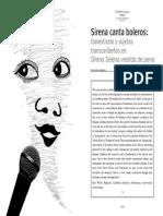 ARROYO 03. Sirena Canta Boleros. Travestismo Transcaribeño