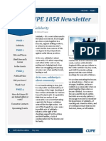 cupe 1858 newsletter may 2014