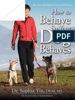 How to Behave So Your Dog Behaves - Sophia Yin