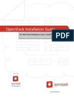 OpenStack Installation Guide for (RHEL,CentOS,Fedora)