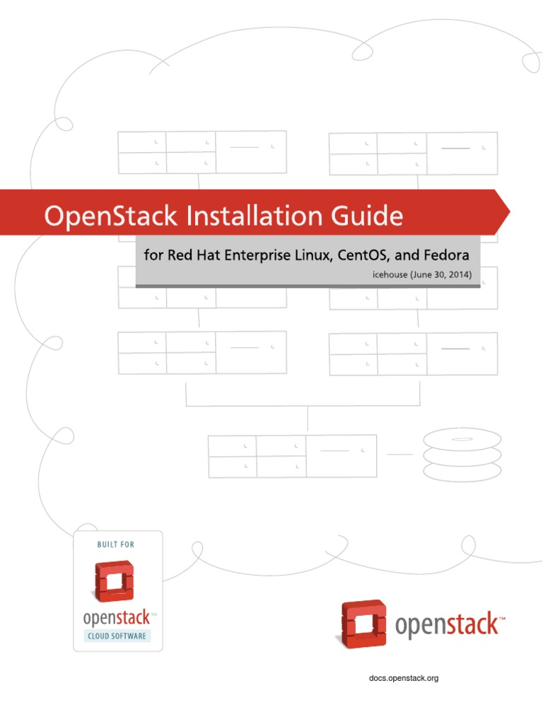OpenStack Installation Guide for (RHEL,CentOS,Fedora)   Open