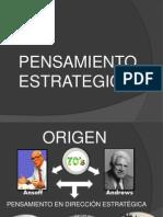 PENSAMIENTO ESTRATEGICO