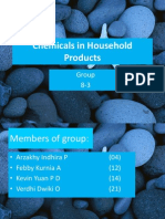 Chemicals in Household Products