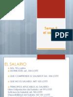 Tema 5 El Salario