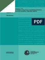 Elementos de Teoría y Politica Macroeconomica Para Una Economia Abierta