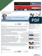 El Perú y El Paradigma Educativo Vertical
