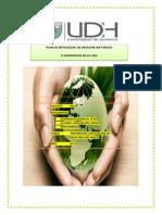 Plan de Mitigacion de Desastre Naturales