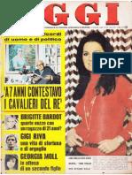 OGGI novembre 1970