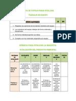 instrumentos de evaluacin para el producto final de entre pares ii