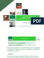 Plan Nacional Para La Erradicación de La Silicosis PLANESI Presentación ACHS