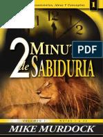 2 Minutos de Sabiduria Volumen 1