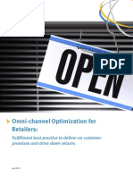 Kewill White Paper - Omni-channel Optimization for Retailers. Fulfillment Best Practice to Deliver on Customer Promises and Drive Down Returns
