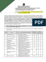 Edital 275 2013 Tecnico Administrativo Retificado Pelos Editais 287-2013 e 290-2013