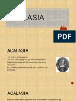 Caso Clinico Acalasia