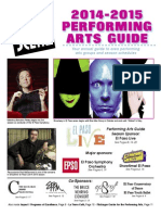 Performing Arts Guide 2014