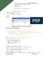 Generar Codigo de Barras en PHP