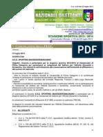 Comunicato Ufficiale Nr,3