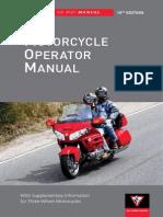 2012 Motorcycle Operators Manual