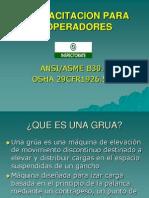 Capacitacion de Operadores de Gruas-final