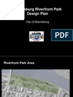 Miamisburg Ohio Riverfront Park Design 2009