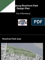 Miamisburg Ohio Riverfront Park Design 2009