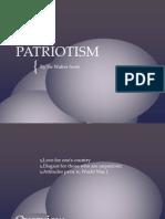 Patriotism Poem
