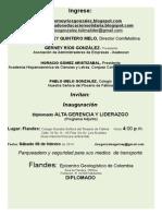 1INVITACION DIPLOMADO ALTA GERENCIA Y LIDERAZGO FLANDES...........doc