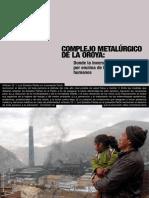 140262061 Informe de La Federacion Internacional de Derechos Humanos Sobre El Actual Estado de La Oroya