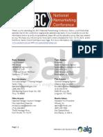 FINAL NRC Attendee List (1)