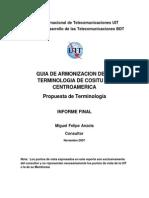 DUIT_Estandarizacion de Terminologia de Costos en Centro America