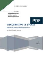 Viscosímetro de Stokes-final