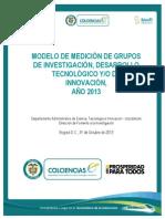Modelo de Medicion Grupos 2013-Definitiva