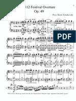 1812 festival overture, Cello