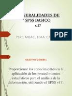 Capitulo 2. Generalidades de Spss