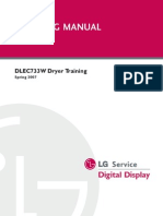 DLEC733W Training Manual