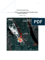 Yuct Ne Senxiymetkwe Camp Initial Assessment Report on Imperial Metals Mount Polley Mine Tailings Storage Facility Breach