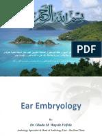 Ear Embryology