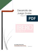 Desarrollo de Juego Snake
