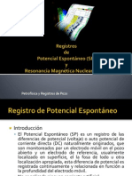 Registros Sp y NMR